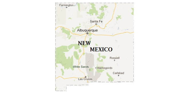 Map Location: New Mexico